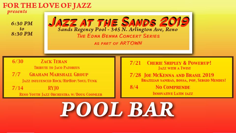 Reno Events Calendar 2019 Jazz Events Calendar